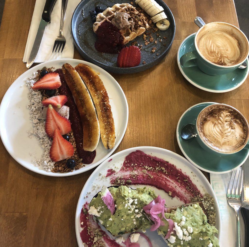 Frühstück im Citizens of Chelsea. New York Breakfast.